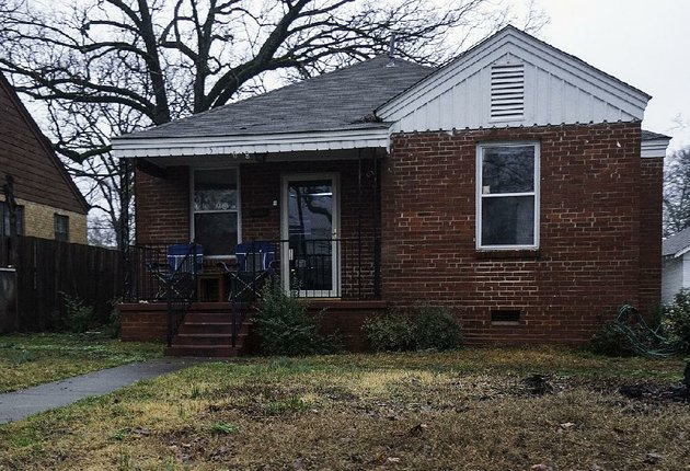 authorities-have-identified-this-house-at-5108-w-31st-st-in-little-rock-as-a-music-studio-that-is-also-used-by-real-hustlers-incorporated-to-distribute-drugs-according-to-a-statement-from-the-us-attorneys-office-the-gang-promotes-itself-as-an-organization-for-rappers-the-office-said