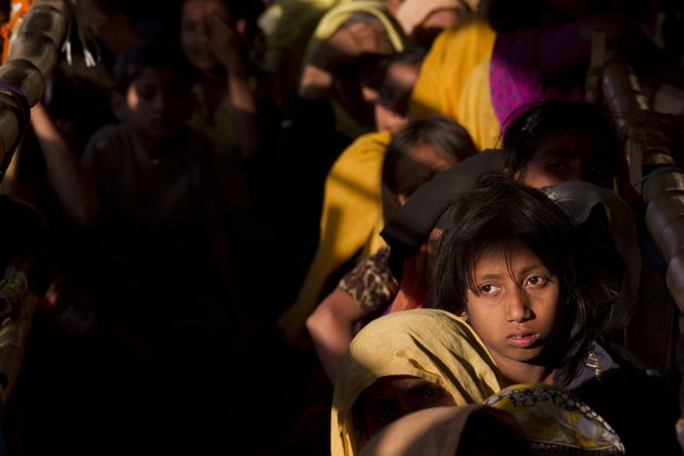 in-this-saturday-jan-27-2018-file-photo-rohingya-muslim-women-refugees-wait-in-a-queue-to-receive-relief-material-at-the-balukhali-refugee-camp-near-coxs-bazar-bangladesh-saturday-jan-27-2018-three-female-nobel-peace-laureates-are-beginning-a-weeklong-trip-to-bangladesh-to-meet-rohingya-women-who-have-been-tortured-raped-and-even-killed-by-myanmar-soldiers-amid-a-delayed-repatriation-process-ap-photomanish-swarup-file