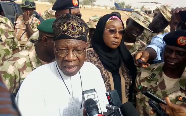 in-this-image-taken-from-video-lai-muhammed-nigerian-minister-of-information-speaks-to-the-media-in-dapchi-yobe-state-nigeria-on-thursday-feb-22-2018-parents-in-northern-nigeria-say-more-than-100-girls-are-still-missing-three-days-after-suspected-boko-haram-extremists-attacked-their-school-the-announcement-comes-after-government-officials-in-yobe-state-acknowledged-that-some-50-young-women-remained-unaccounted-for-in-the-monday-evening-attack-ap-photo