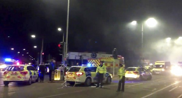 Police Respond To 'Major Incident' In England After Reports Of Explosion