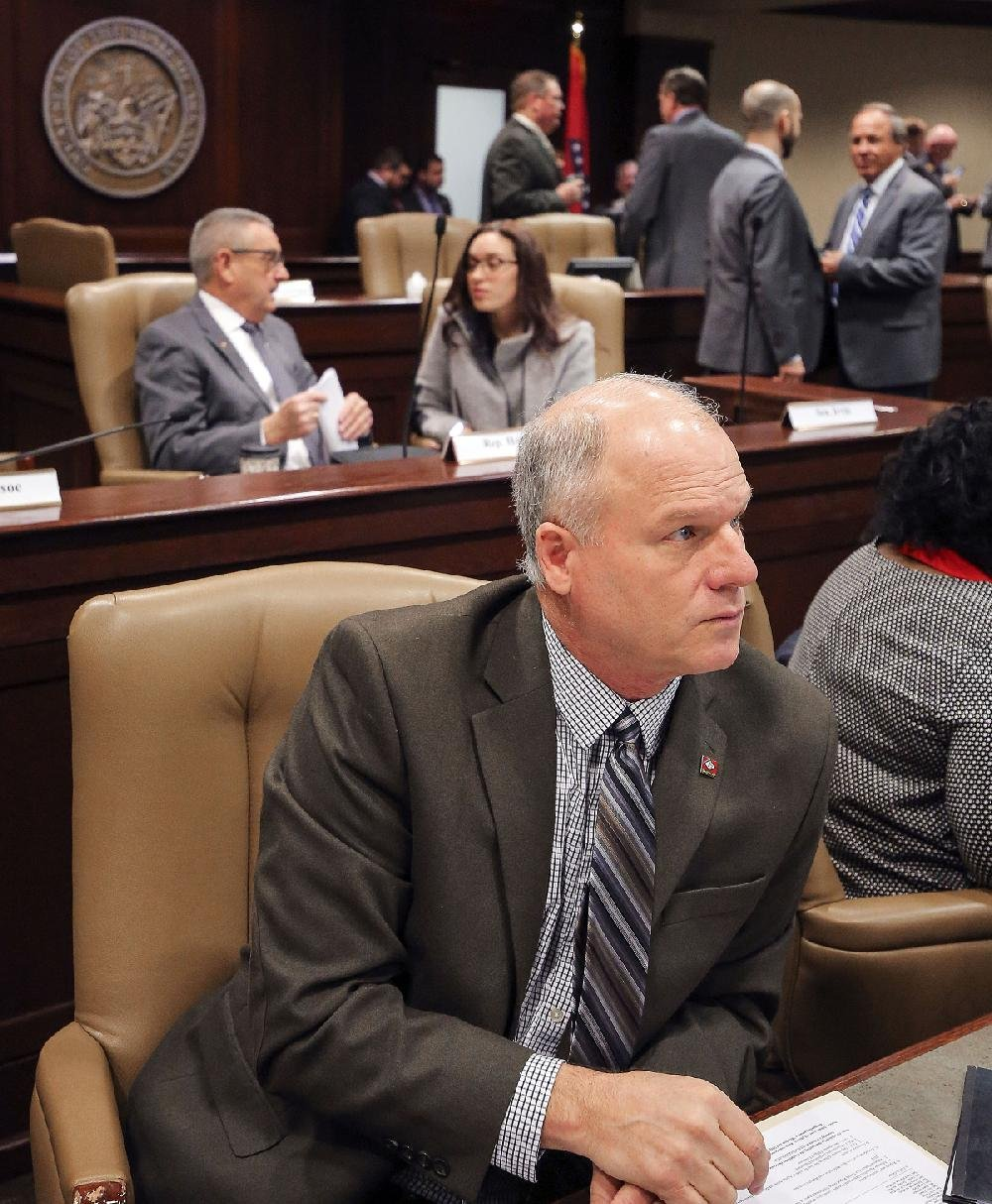 Sen. Jim Hendren of Sulphur Springs is shown in this file photo.
