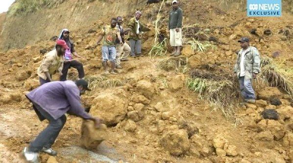 PNG struggles to assess quake damage