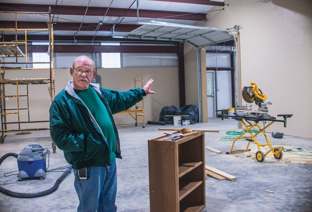 bobby-hargis-director-of-cleburne-county-cares-talks-about-the-6000-square-foot-building-under-construction-in-heber-springs-the-food-pantry-and-offices-will-be-housed-in-the-new-facility-adjacent-to-the-organizations-current-thrift-store-and-pantry-hargis-said-the-pantry-will-be-closed-the-week-of-march-19-to-move-to-the-new-building-the-plan-is-to-remodel-the-thrift-store-he-said