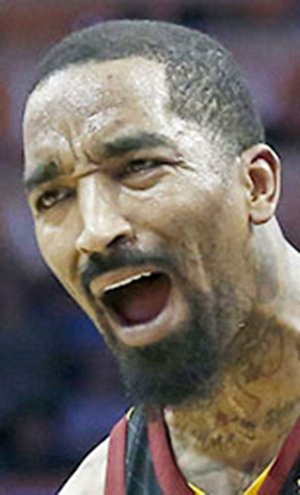 Cleveland Cavaliers guard J.R. Smith
