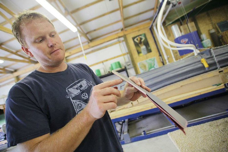 Product puts canoe makers back to work