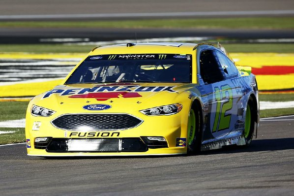 Ryan Blaney's speed show continues atop final practice at Las Vegas