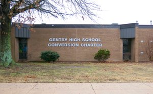February rumors of threats against students and staff at Gentry High School led to an arrest on March 5 in Gentry.