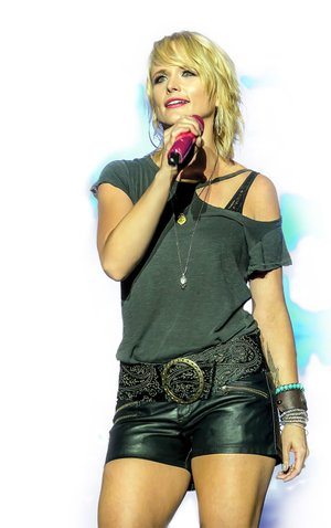 Country music star Miranda Lambert