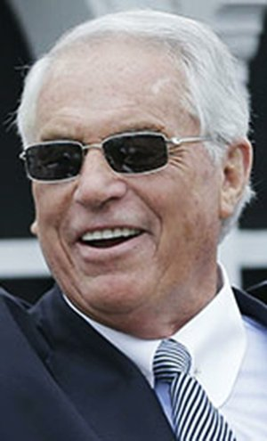 Hall of Fame trainer D. Wayne Lukas is shown in this file photo.