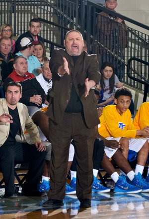 North Little Rock Coach Johnny Rice is shown in this file photo.
