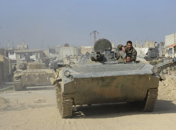 Syrian troops hold over half of eastern Ghouta