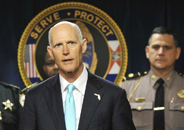 Fla. governor signs gun control bill