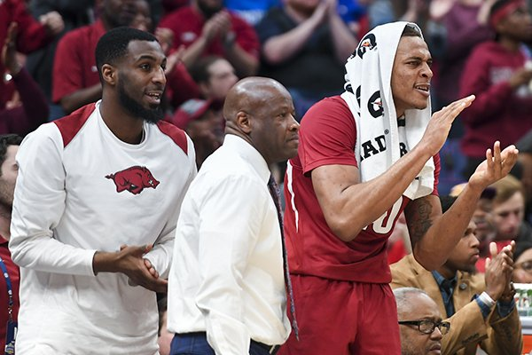 Mike Anderson and players react to NCAA Tournament seeding ...
