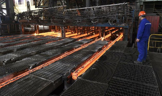 a-steelworker-at-xiwang-special-steel-in-zouping-county-in-eastern-chinas-shandong-province-oversees-production-last-week-chinese-steel-mills-account-for-half-the-worlds-steel-production