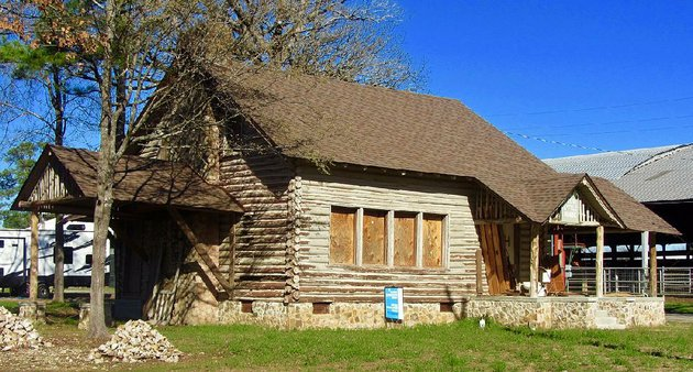 the-girl-scout-little-house-in-hope-built-in-1938-is-under-restoration-in-the-southwest-arkansas-citys-fair-park