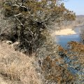 Rich Hall photographs the Meramec River Feb. 7 from the bluff trail at Onondaga Cave State Park in M...