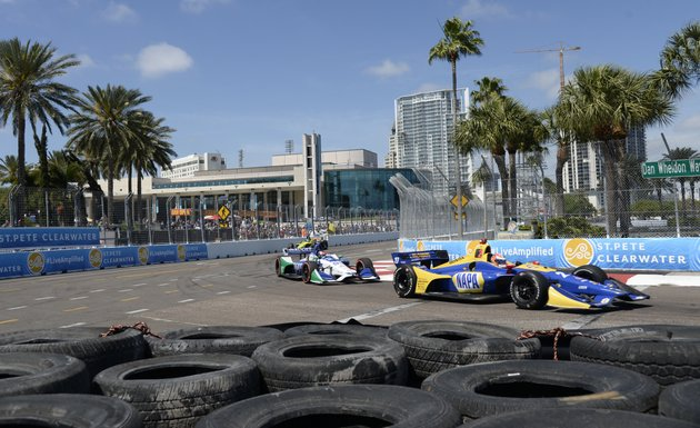 alexander-rossi-27-and-marco-andretti-98-race-through-turn-10-during-the-indycar-firestone-grand-prix-of-st-petersburg-sunday-march-11-2018-in-st-petersburg-fla-ap-photojason-behnken