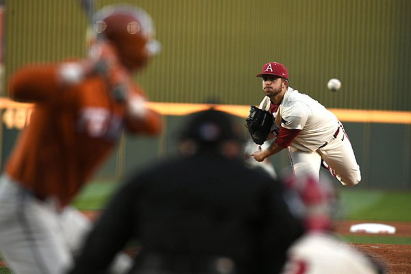 arkansas-pitcher-kacey-murphy-throws-a-pitch-during-a-game-against-texas-on-tuesday-march-13-2018-in-fayetteville