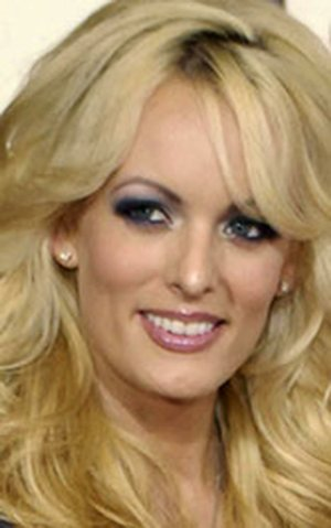 """FILE - In this Feb. 10, 2008 file photo, adult film star Stormy Daniels arrives at the 50th Annual Grammy Awards in Los Angeles. CBS News President David Rhodes says that a """"60 Minutes"""" interview with Daniels needs more journalistic work. Rhodes' statement at a conference in Israel Tuesday was the first time CBS publicly confirmed it had interviewed Daniels, who has alleged an extramarital affair with Donald Trump before he became president. (AP Photo/Chris Pizzello, File)"""