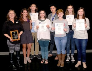 Janelle Jessen/Siloam Sunday Siloam Springs High School theater students brought a number of awards home from the Arkansas Educational Theatre Association annual State Thespian Festival on Feb. 8 through 10.