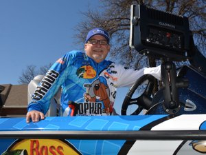 Mike Capshaw/Herald-Leader Carl Svebek of Siloam Springs is one of three Arkansans in the field of 52 anglers fishing at the 2018 GEICO Bassmaster Classic on Lake Hartwell in Greenville, S.C. The biggest event in professional bass fishing runs today through Friday.