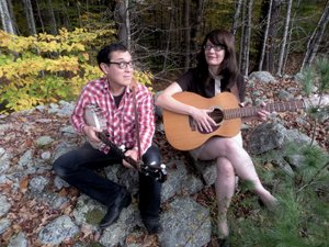 Courtesy photo The folk duo group Hungrytown has been featured on several TV shows and will bring their music to Siloam Springs during a free performance at the library from 7-8 p.m. on Tuesday, March 20.