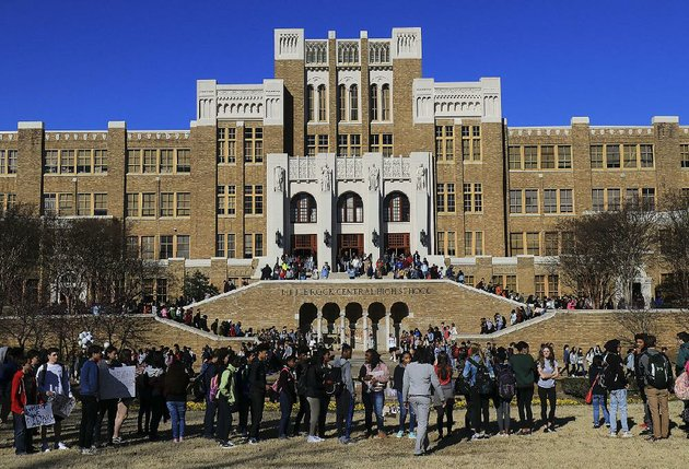 students-gather-wednesday-morning-in-front-of-little-rock-central-high-school-for-the-national-school-walkout-demonstration-on-the-one-month-anniversary-of-the-shooting-at-marjory-stoneman-douglas-high-school-in-parkland-fla-that-left-17-dead