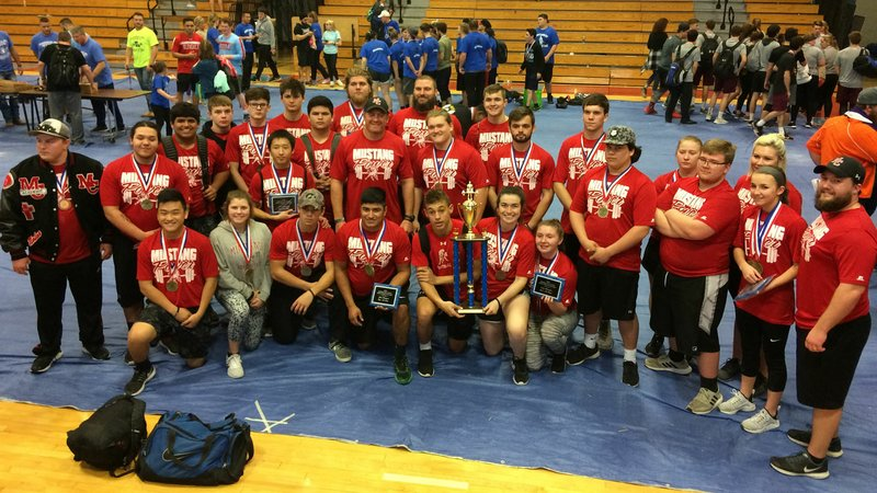 Image result for mcdonald county high school powerlifting team