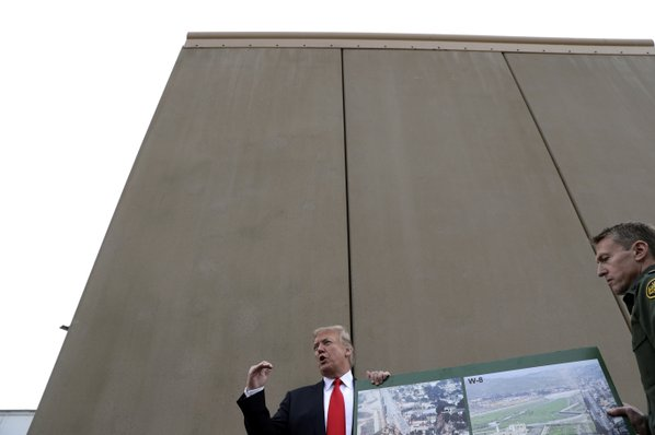 Trump on Viewing Wall Prototypes: 'This Is Life'