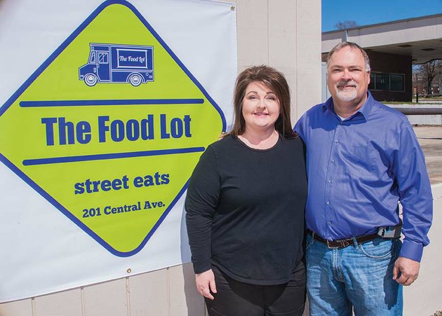 Arkansas City's first fixed food-truck lot opens Monday