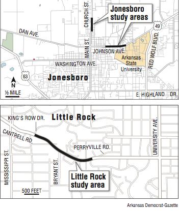 Traffic Study Focuses On 2 Arkansas Cities In Effort To Cut