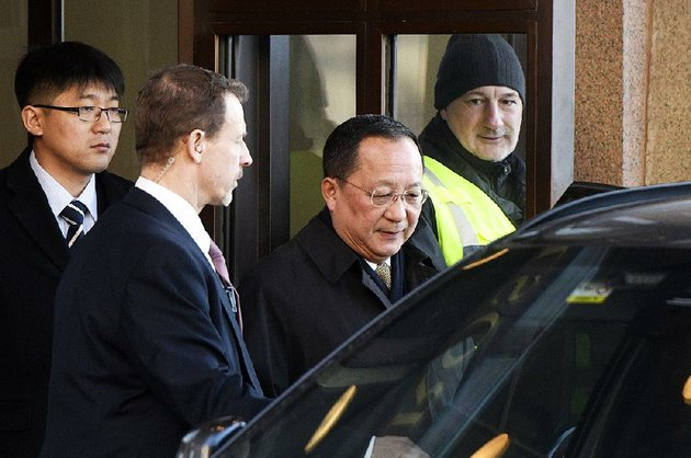 ri-yong-ho-north-korean-foreign-minister-leaves-the-swedish-government-building-in-stockholm-after-a-meeting-friday-with-prime-minister-stefan-lofven