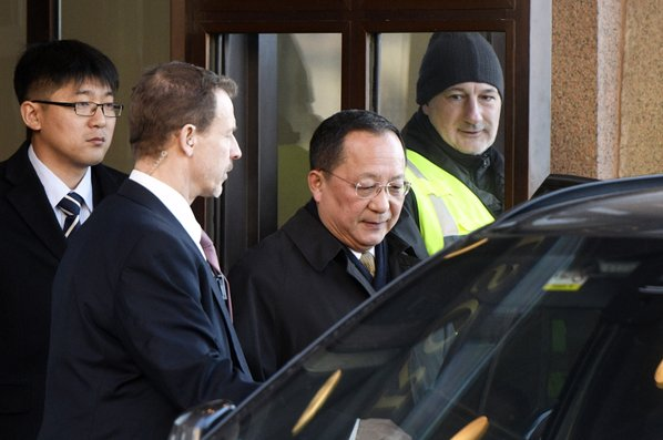 North Korean minister in 'constructive' talks in Sweden