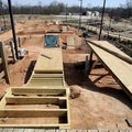 New jumps are under construction at the Railyard.
