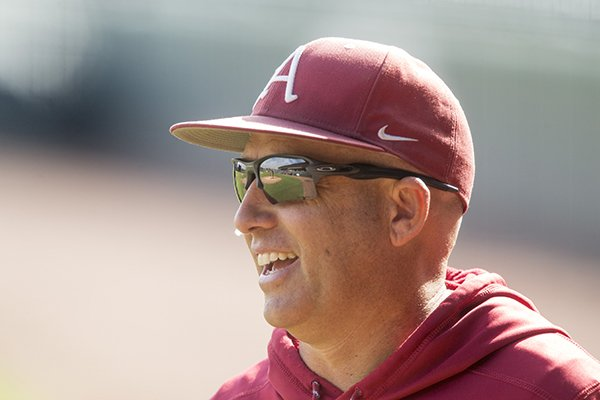 arkansas-pitching-coach-wes-johnson-watches-practice-tuesday-oct-11-2017-in-fayetteville