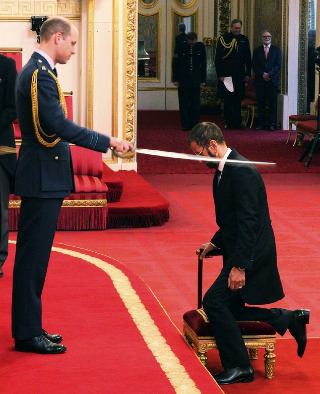 Arise Sir Ringo: Beatles drummer gets knighthood at last