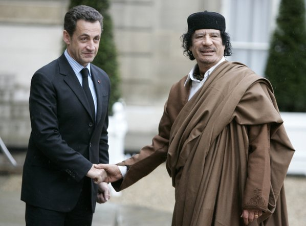 French ex-Prez Sarkozy held in Libya funding probe