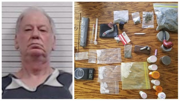 james-hoey-66-of-paragould-faces-drug-charges-after-suspected-methamphetamine-and-marijuana-were-found-in-his-possession-including-about-71-grams-stuffed-in-with-a-water-bill-payment-authorities-said