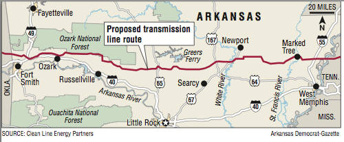Plan To Build Power Line Across State Out Of Steam