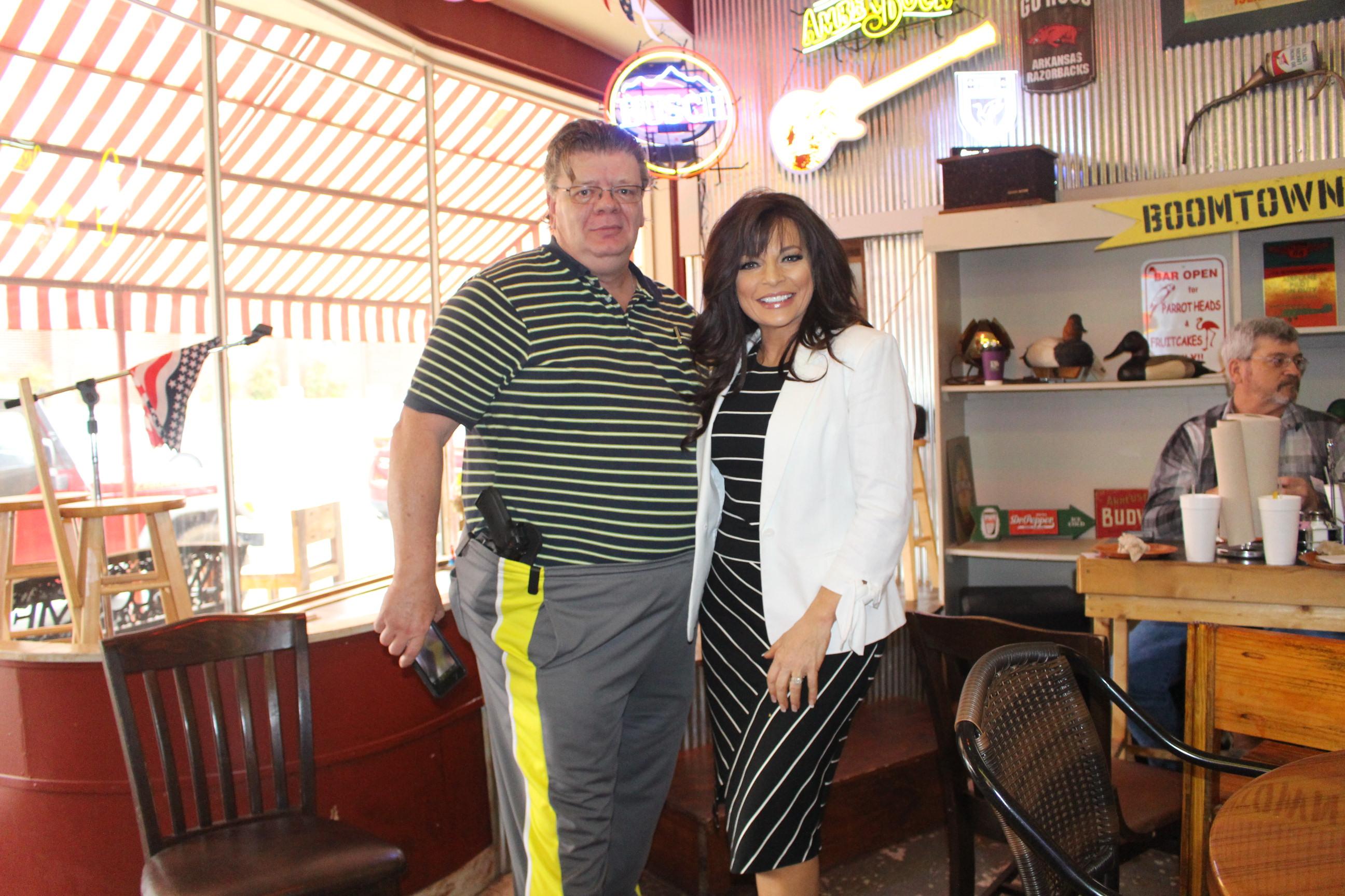 El Dorado News Times Jan Morgan attends meet and greet at ...