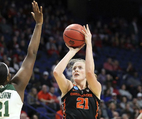 OSU women upset Baylor 72-67 in NCAA Sweet 16