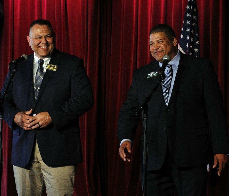 Pulaski County sheriff candidates square off in public debate