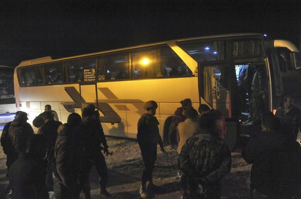 More than 113000 Civilians Evacuated from Eastern Ghouta, Russia Says
