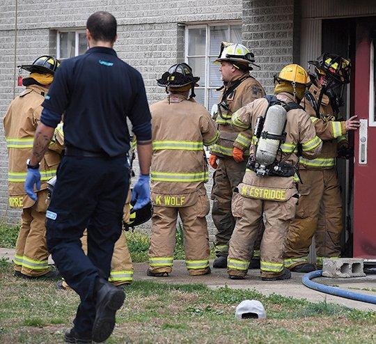 Polo Run Apartments: Apartment Fire Kills One: Residents Rescued By