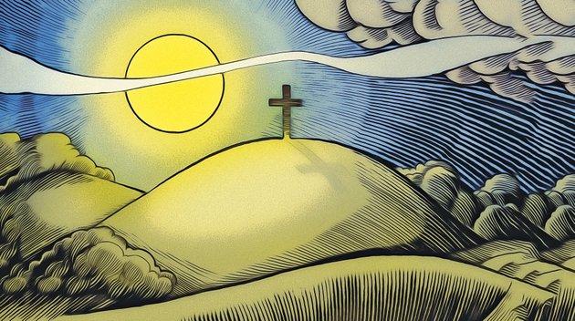arkansas-democrat-gazette-easter-sunrise-illustration