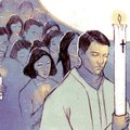 Arkansas Democrat-Gazette Easter vigil Illustration