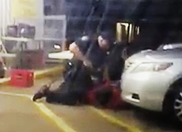 Raw footage of fatal police shooting released