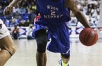West Memphis forward Chris Moore helped lead the Blue Devils to the Class 6A state championship game.