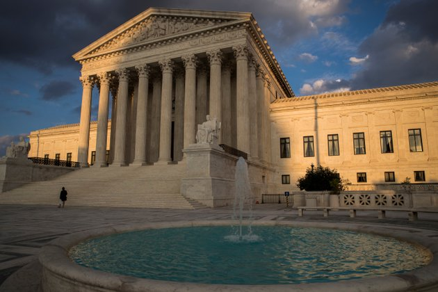 in-this-oct-10-2017-photo-the-supreme-court-in-washington-is-seen-at-sunset