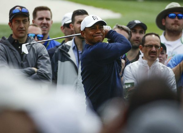 Tiger Woods finds sub-70 Masters round encouraging